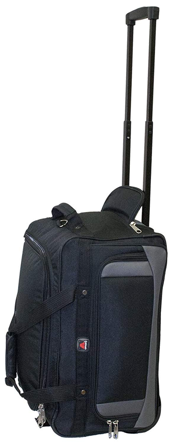 Get Quotations · Amaro wheel duffle bag Lightweight wheeled duffle bag  Carry on duffle bag with wheels for travel 5a9c6b0d18d09