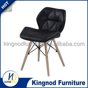 China Cheap Design Wholesale Leisure Chair, Modern Black Dining Chair Furniture, Organic Conference Chair