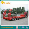 2014 China New Special chengshida brand 4 Axle Lowboy semi trailer