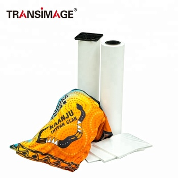 high quality factory price wholesale 70gsm/75gsm fast dry heat sublimation transfer paper
