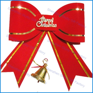 Red Decoration Bubble Bowknot 2015 New Products Christmas