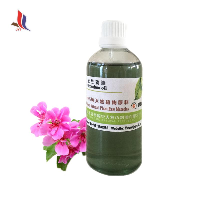 Best Price Jxjyt Pharmaceutical Grade Rose Geranium Oil Edible Geranium Essential Oil