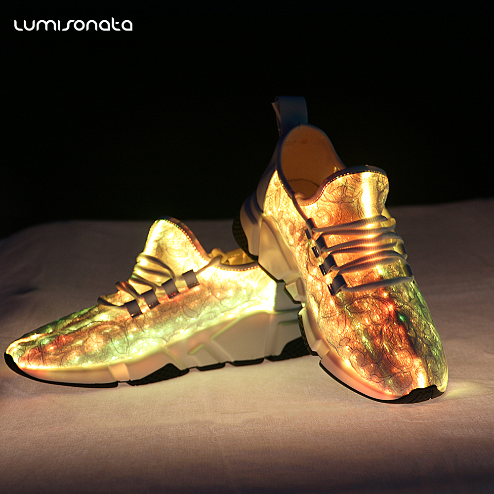 Up Sport LED 2017 Shoes Light Fashion Mens FqCqxBwUnf