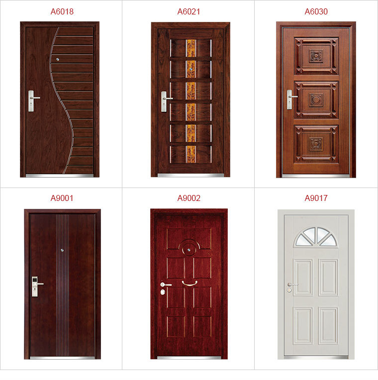 New Model Best Sell High Quality Metal Flat Exterior Door