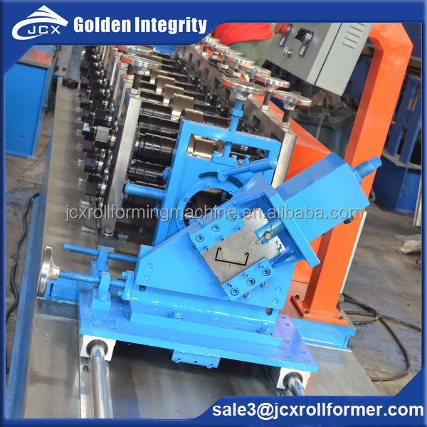 C U profile light steel frame roll forming machine with good quality
