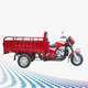 Guangzhou cargo 200cc heavy load tricycle/motorcycle best price