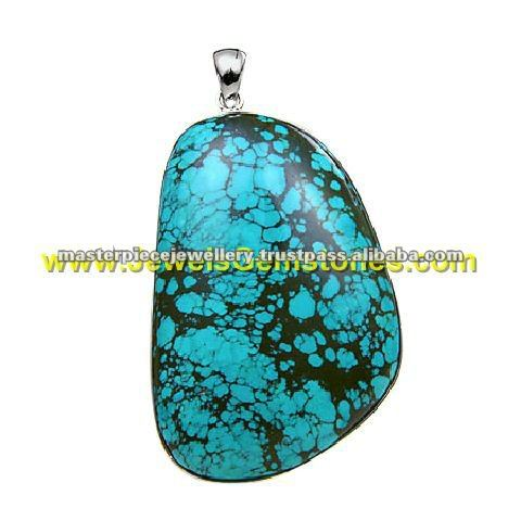 greenish blue dragon skin tibetan turquoise jewellery KPJ271626-0