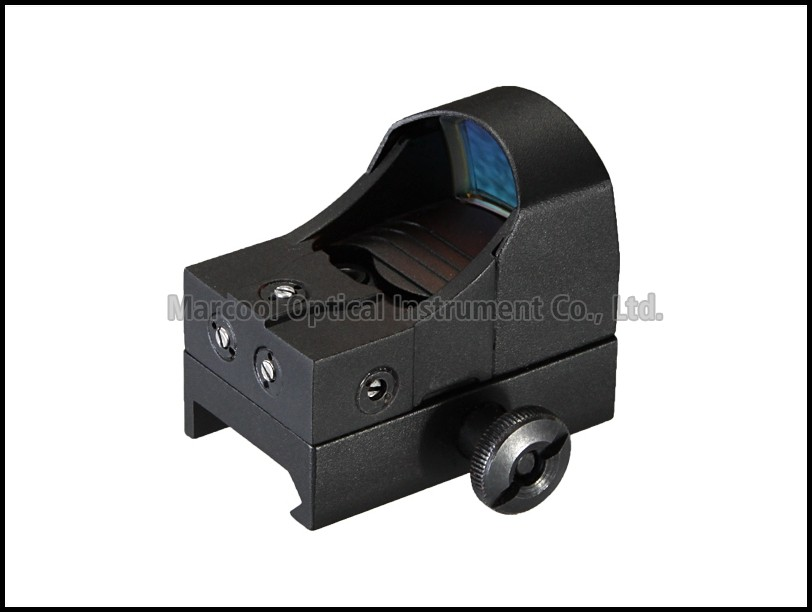 1X22 red dot Manually Brightness 20MM Scope Red Green dot Sight Hunting Optical Sight Riflescope For Hunter Made In China