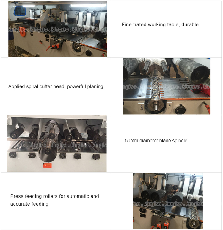 Woodworking machine KI9320 horizontal brush wood sanding machine