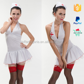 Newest Cheap Sexy Hot Nurse Costume White