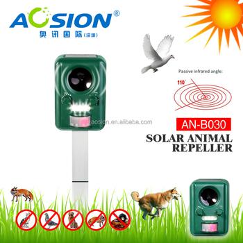 Aosion Ultrasone Solar Vogels Repeller Dieren Repeller Zonne-energie ...