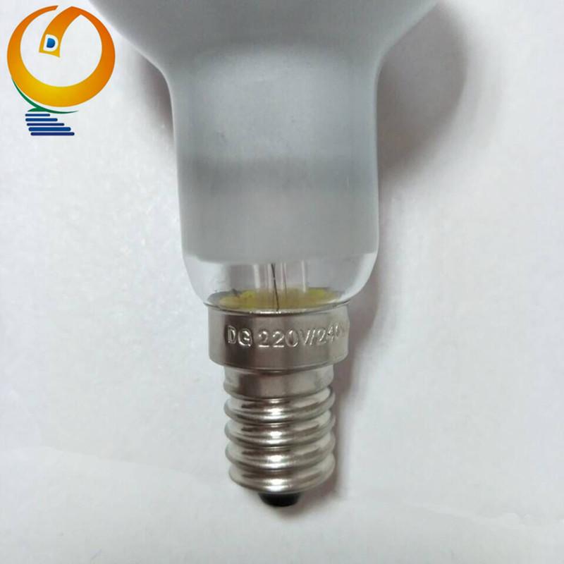 R50 Reflector Halógeno de ahorro de energía de 60 W bombillas E14 Edison se Pack De 2
