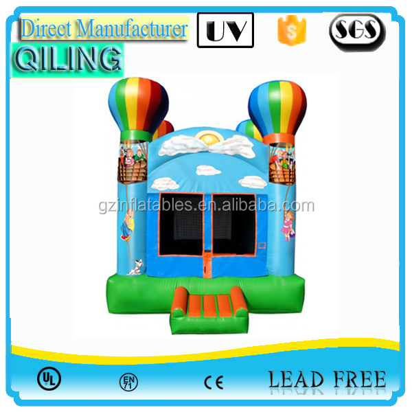 2017 Wholesale commercial blue inflatable moonwalk bouncer,kids inflatable jumpers for sale