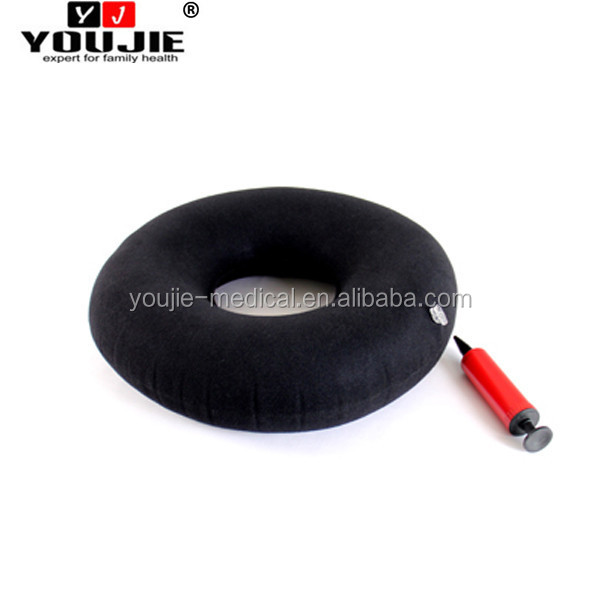 Hot medical ring air cushion for wheelchair inflatable donut seat cushion for hemorrhoids
