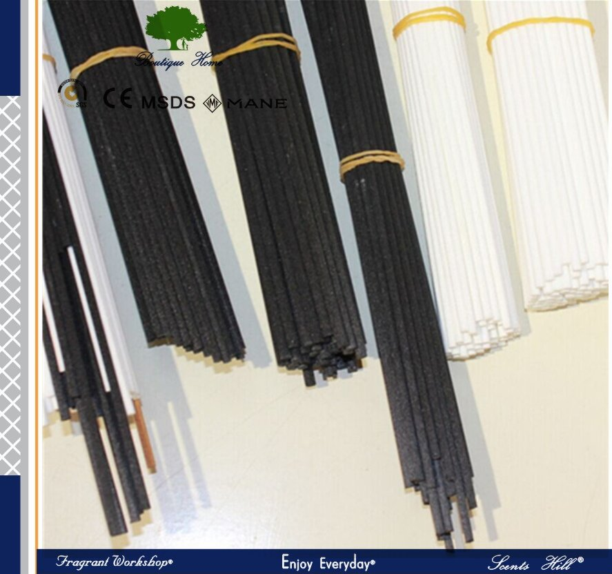 2015 Natural color or custom bamboo air wick or fiber rattan sticks for decorative reed diffuser