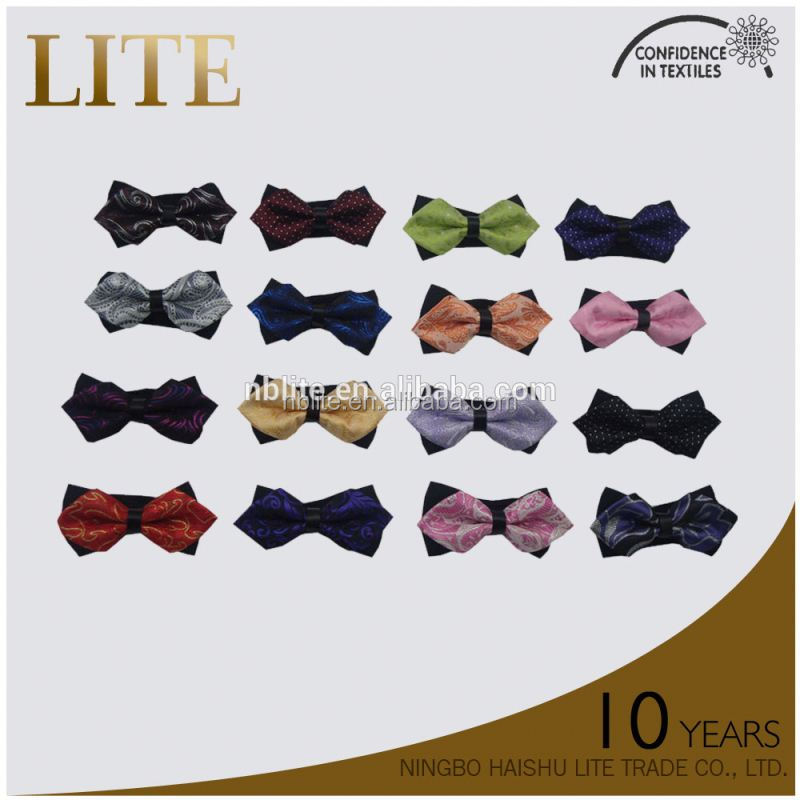 2015 hot sell poly yarn dyed necktie