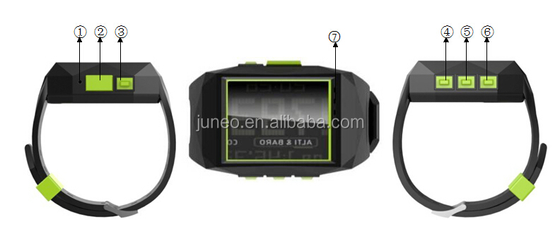 wrist watch personal gps trackers Location based service(LBS) + GPS double real time tracking solution