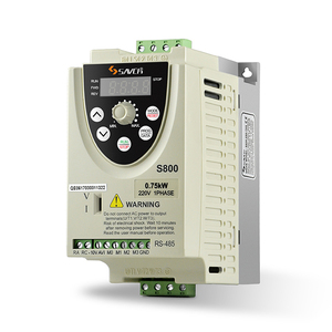 frequency inverter single phase 220V input 0.75kw output ac variable frequency drive