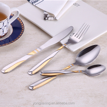 Wholesale gold swiss home 72pcs cutlery set