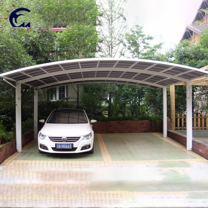 Canopies&Carports, Garages Type Aluminium/Solid PC Car Shelter