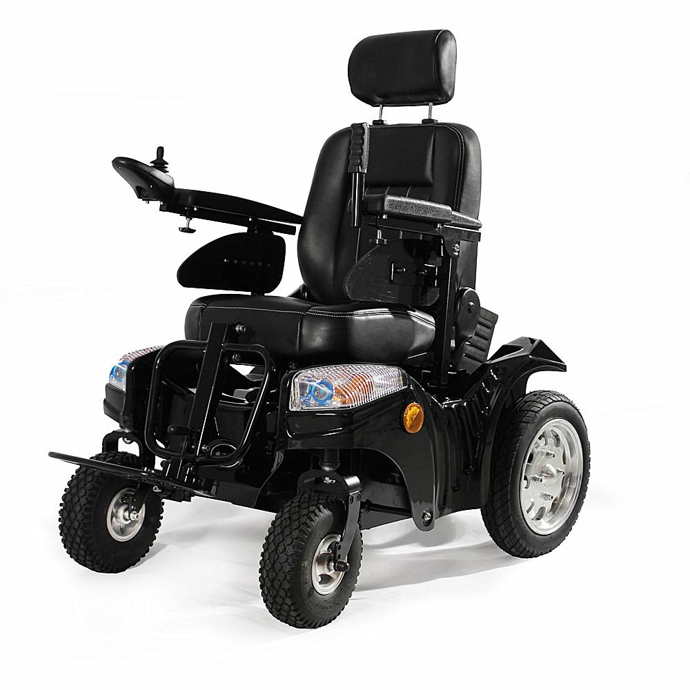 على الطرق الوعرة Wisking 1033 الثقيلة وظيفية كرسي متحرك كهربائي للمعاقين