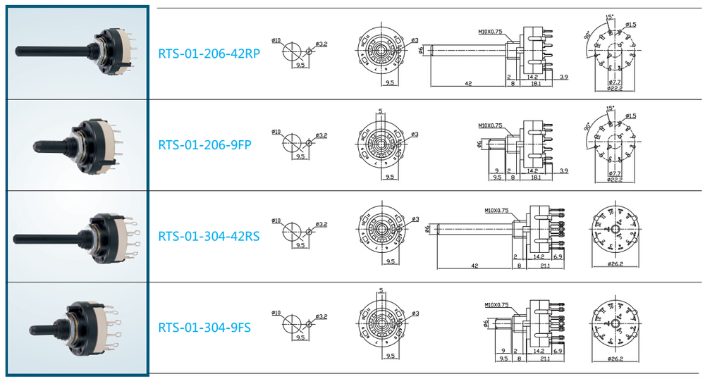 bremas rotary switch wiring diagram