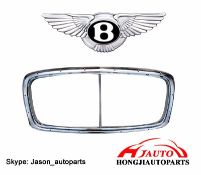 Bentley Grill Front Chrome Grille Bentley Gt Gtc Flying