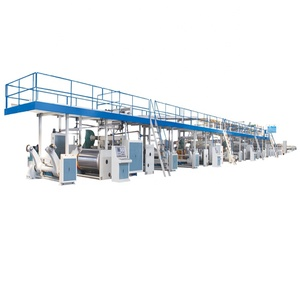 Machine Manufacturer Paper Packaging High Speed Corrugated Box Single Facer Machine