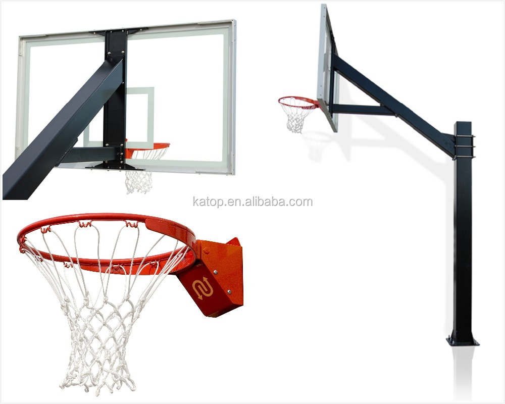 Inground basketball stand basketball hoops stands for Un stand