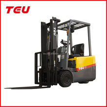 3 wheels electric forklift 1.5 ton