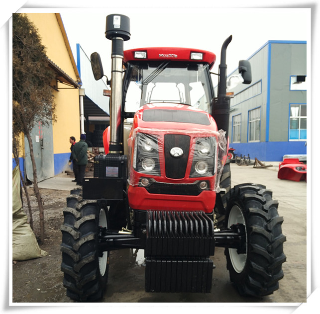 China Similar 130hp 4WD Farm Tractors Cubano Machine Price for Sale