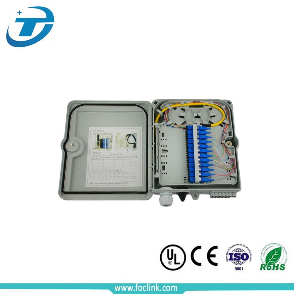 china manufacturer 12 output fiber termination