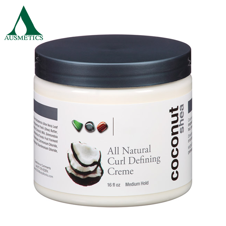 All natural curl defining cream medim hold hair care hair curl styling cream for all curl types