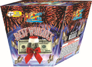 1.2 inch 16 shots Best Wishes cake fireworks manufacturer in China