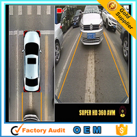 Road Safety Vehicle Front View 360 Degree Car Dash Camera