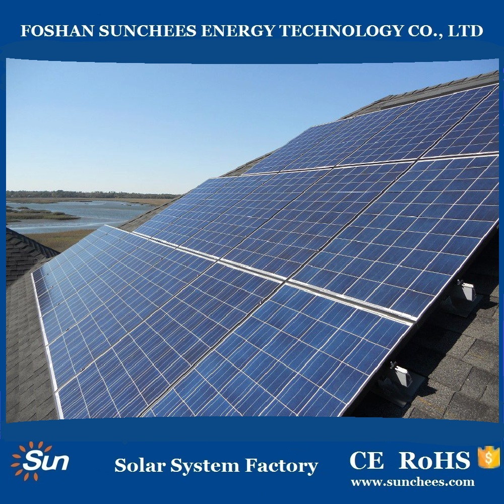 Small Home 2000w Solar Pv Mounting System Hot Sale Solar