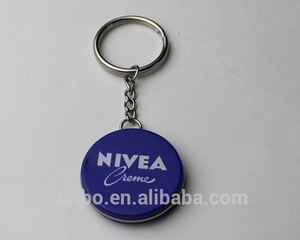 Round Metal Key Chain Parts