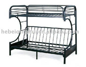 metal bunk bed frame with futon Roselawnlutheran
