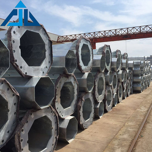 High quality cheap price galvanized steel pole in power electric distribution equipment