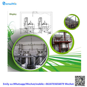 Energy - efficient distillation plant for frankincence and myrrh aromatous essential oil machine used to extract