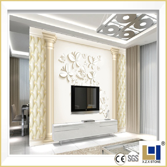 Plaster Decorative Polyurethane Roman Column Mould Molds For Sale