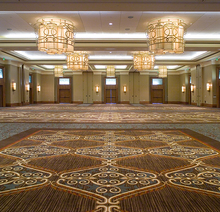 Luxury Fireproof Casino Mosque Axminster Carpet