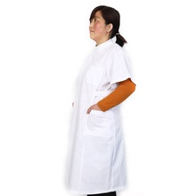 Hot coreano ospedale camicetta bianca <span class=keywords><strong>infermiera</strong></span> <span class=keywords><strong>uniforme</strong></span> di cotone ospedale chirurgico scrub <span class=keywords><strong>uniforme</strong></span>