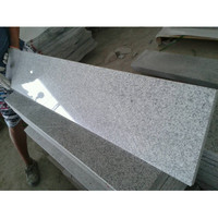 Polished Surface Finishing and Grey Color g603 granite paving stone floor tiles
