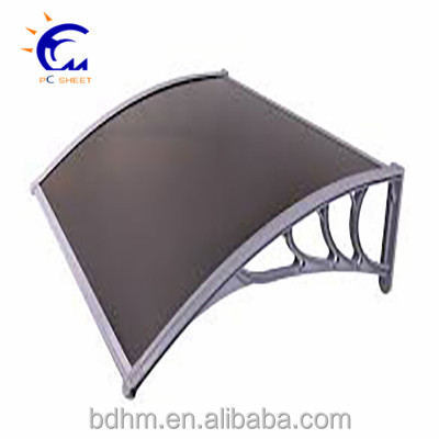 Plastic building material carport roofing material acrylic fabric retractable awning