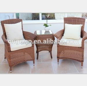 Rattan bar stools set perfect for balcony synthetic outdoor summer winds patio furniture
