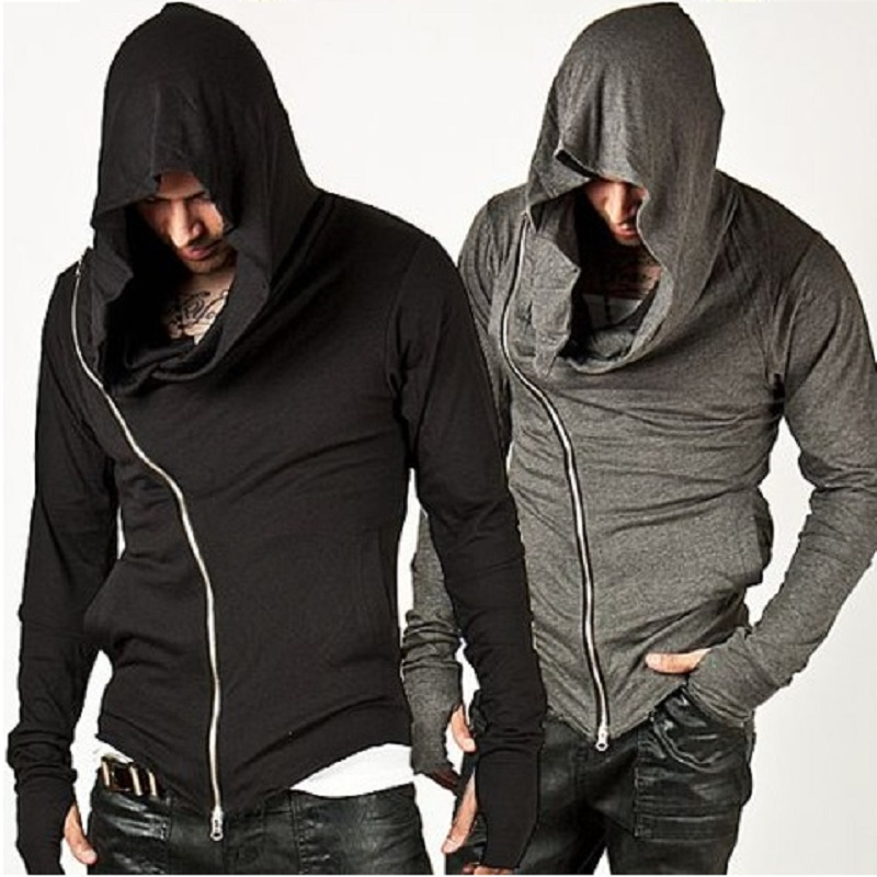 Fashion assassins creed Hooded Men Hoodies Male Causal Sportswear Outdoor Sports Outerwear Tracksuit Sweatshirt US Size