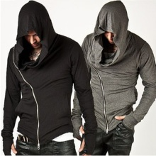 Fashion assassins creed Hooded Men Hoodies Male Causal Sportswear Outdoor Sports Outerwear Tracksuit Sweatshirt US Size  S-L
