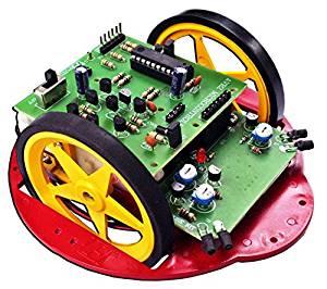 AVR2 Obstacle-Avoiding Robot re-program Electronic Kit : FA1110