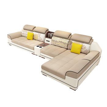 U Shaped Sofa Set 7 Seater Modern Style Wooden Sofa Set Designs Living Room  Furniture Settee Sofa - Buy Wooden Settee,Latest Living Room Sofa ...